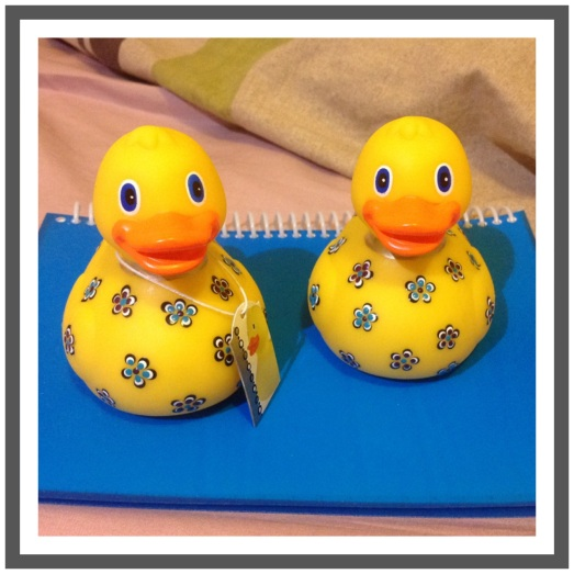 Sometimes A Rubber Duck Really IS Just A Rubber Duck ..these ones, of course, aren't..